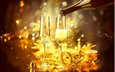 New Year Celebration With Champagne Stock Photo - Image of holiday, garland: 48394326 New Year Pictures, Thankful Heart, New Year 2017, Wish Quotes, New Year Celebration, Happy New Year, Garland, Champagne, Stock Photos