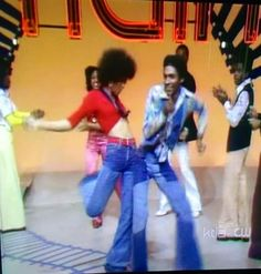 Sharon Hill-Wood & Alpha Omega Anderson Soul Train Dancers, Afro, Disco 70s, Blues, Good Morning Messages, Young Black, Great Tv Shows, Queen, Soul Music
