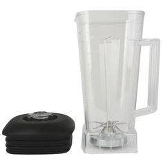 Blender Parts Bank for Smoothies 2L Square Transparent Jars Including Cover Blade for Commercial Blender 767 800 5200 010