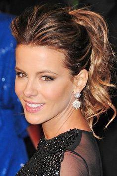 Kate Beckinsale #peinadosdefiesta