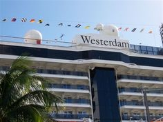 Boarding Holland America Line's Westerdam- This will be us in a few weeks
