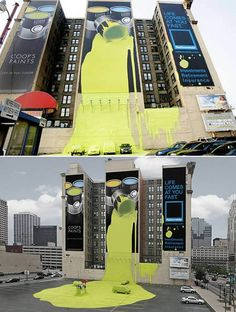 #Art street art  Hey we saw this in was in Columbus Ohio a few years ago cool stuff!~