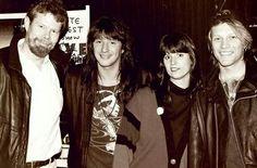 Richie Sambora and Jon Bon Jovi. @itsjustme-itsmylife   Tumblr #jonbonjovi #jbj #captainkidd #bonjovi #richiesambora #kingofswing