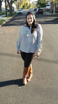 Blush & Gray: Riding boots outfit! www.blushandgray.blogspot.com