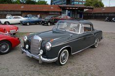 Mercedes-Benz W180 1954-1959 (1956-1959 220S Coupé 2d), left front view