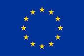 La bandiera europea — le 12 stelle in cerchio simboleggiano gli ideali di unità, solidarietà e armonia tra i popoli d'Europa.
