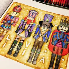 @livinhamso tá prontinho!!! #feliznatal #afestivecoloringbook #johannaschristmas #johannabasford #boracolorirtop #divasdasartes