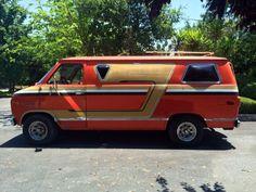 Chevy, Chevy Van, Boogie Van, Vannin, 70's, Custom Van