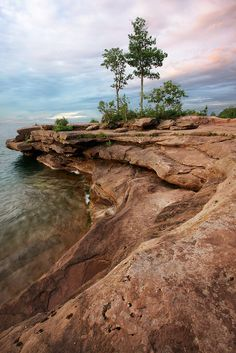Big Bay State Park (Eagles Nest), Madeline Island, WI.