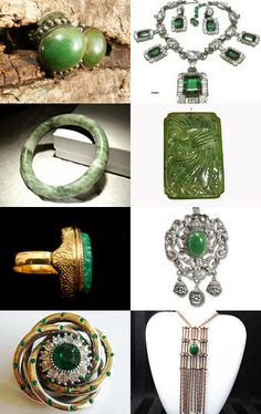 Everything's Green Today! #VJSE Group & Vogue Team by Diana on Etsy--Pinned with TreasuryPin.com