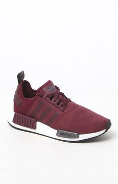 6c4418fea adidas combines modern streetwear style with innovative technology in the  Women s Maroon Sneakers. Fashioned in a maroon hue