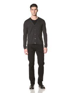 Pringle of Scotland Men's Merino Wool Cardigan (Dark Blue) #Cardigan #Shirt #Men #ShirtsSweaters