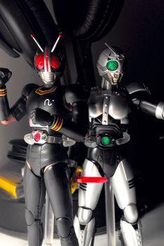 S.H.Figuarts Kamen Rider Black and Shadow Moon