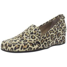 Anyi Lu Women`s Gaby Slip-On Loafer,Ivory Leopard Suede,39 EU/39 B US $365.00