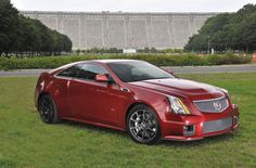 Cadillac CTS-V Coupe. i will own one of these in the very near future.