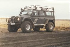 "Land Rover Defender Off-Road | Land Rover Defender 130, equipped with 38"" tires, which was also ..."