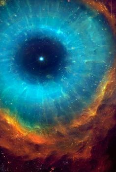 Helix Nebula This world is really awesome. It is like 2 rainbows connected at the ends, facing each other.