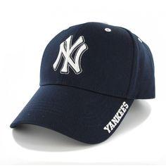 New York Yankees Frost Navy 47 Brand Adjustable Hat
