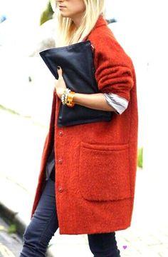 Oversized coats http://www.stitchfashion.com/?p=22401
