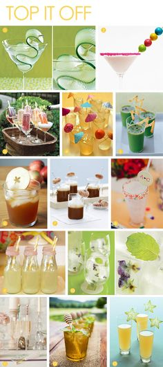 Creative garnish ideas