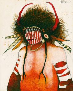 "Medicine Man,"" by Kevin Red Star Native American Paintings, Native American Artists, Native American Indians, Native Americans, Paintings I Love, Indian Paintings, Art Paintings, San Francisco Art, Star Painting"