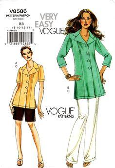 Vogue Dress Patterns, Vogue Sewing Patterns, Vintage Sewing Patterns, Patron Vintage, Wedding Dress Patterns, Jacket Pattern, Fashion Sewing, Vintage Denim, Jackets For Women