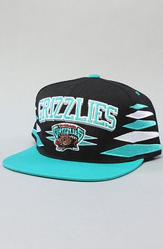 $26 #yvr #vancouver The Diamond Snapback Hat in Black & Teal by Mitchell & Ness at karmaloop.com -- Use repcode SMARTCANUCKS at the checkout for 20%OFF your purchase on Karmaloop.com