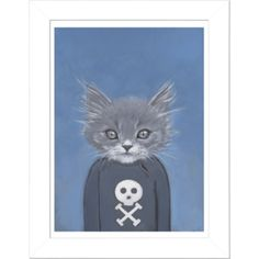 cats in clothes art - heather mattoon