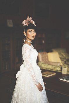 Taylor + Bailey - Wildflower Weddings Fusion Design, Just The Way, Frocks, Wild Flowers, Gowns, Weddings, Wedding Dresses, Pretty, Model