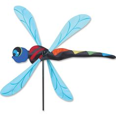 Premier's WhirliGigs capture all the fun of this traditional American wind decoration. Compared to metal or wooden devices, the durable SunTex fabric wings spin in lower breezes. A host of humorous th
