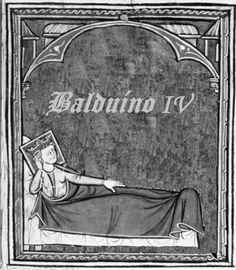 [1177]. Balduíno IV estava doente com malária enquanto os barões locais discutiam com Filipe de Flandres, primo do rei, os planos de uma campanha.