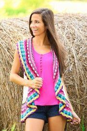Colorful World Vest