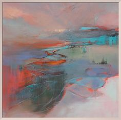 Midwinter Fire Art Print by Kathy Ramsay Carr at King & McGaw