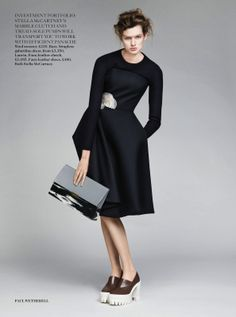 visual optimism; fashion editorials, shows, campaigns & more!: cache and carry: bette franke by paul wetherell for uk vogue august 2013 Bette Franke, Vogue Uk, Elegant Outfit, Dress Me Up, Editorial Fashion, Magazine Editorial, Fashion Looks, Style Fashion, Fashion Trends
