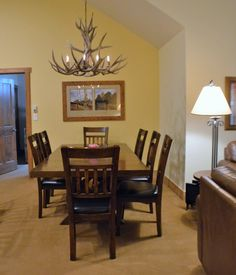 RH 2307 new dining table and chairs