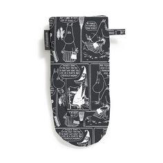 Sarjakuva-Muumimamma Ovnhandske 15x30cm, Sort/Hvid 82 kr. - RoyalDesign.dk