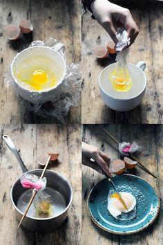 Dorian cuisine.com Mais pourquoi est-ce que je vous raconte ça... : Et si on faisait cuire les œufs comme des poissons...