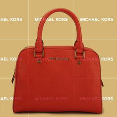 Although Michael Kors Reese Large Red Satchels Is The International Brand, It Is Not Only Belong To Celebritis.