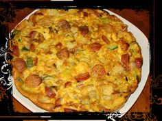 Cookbook Recipes, Cooking Recipes, Appetizer Recipes, Appetizers, Sausage And Egg, Quiche, Macaroni And Cheese, Brunch, Food And Drink