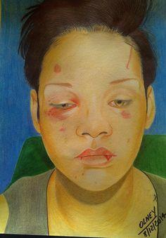 Rihanna  by Olney Cruz