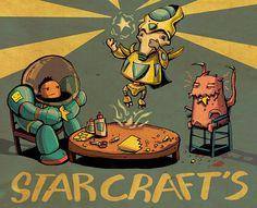 Starcraft 2 stracraft's gaming game PC