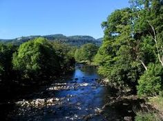 part of the river/waterfall in Betws-y-Coed