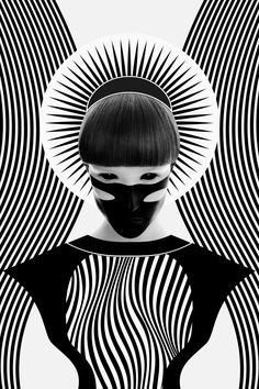 """<p>Here is the latest series of digital illustrations by Georgian designer Nikoloz Bionika. The black & white """"Dark Homonyms"""" series is based on the 'Homonym' meaning wher"""