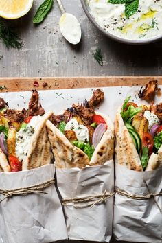 #Vegan Gyros | Lazy Cat Kitchen