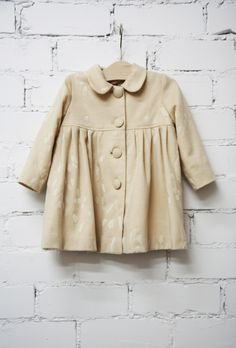 Little girl wool coat  - Bebes de Justine