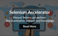 Manual testing and test automation procedures are constantly going through changes with the evolution of development and testing methodologies, practices and tools. http://expedux.com/frameworks/selenium-accelerator/
