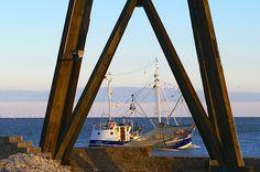 Kutter bei Kugelbake Cuxhaven