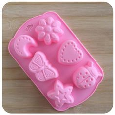 Silicone Mold Chocolate Ice Cube Tray Fondant Molds DIY SOAP Mould Jello Candy | eBay