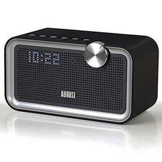 Chollo en Amazon España: Radio despertador y altavoces Bluetooth August SE55 por 50,96€ (27% de descuento sobre el precio y precio mínimo histórico)