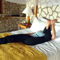 Yoga for bedtime! Relieve tension and improve alignment!